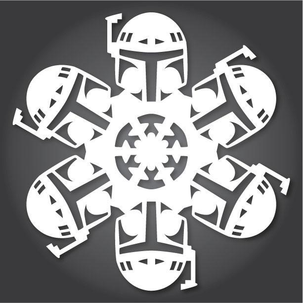 Cнежинки в форме нобелевских лауреатов. Саныч. Онлайн-журнал о физике Symmetry Magazine опубликовал шаблоны, позволяющие вырезать бумажные снежинки в виде трех нобелев