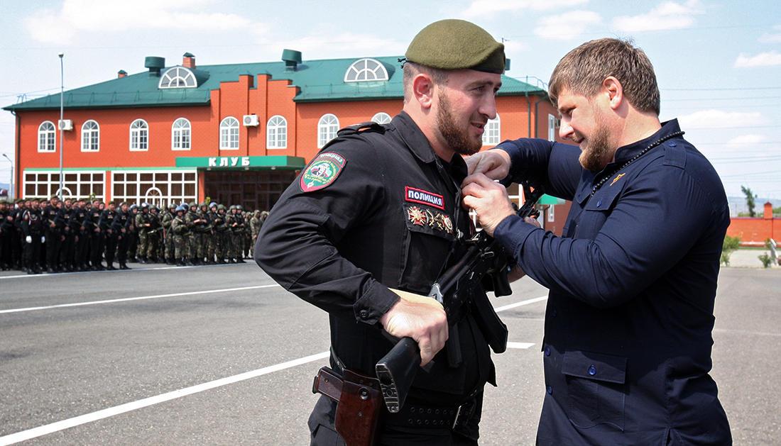 В Чечне убили главу территориального отделения полиции