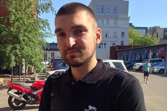 Степан Зимин в Москве. 23 июня 2015-го