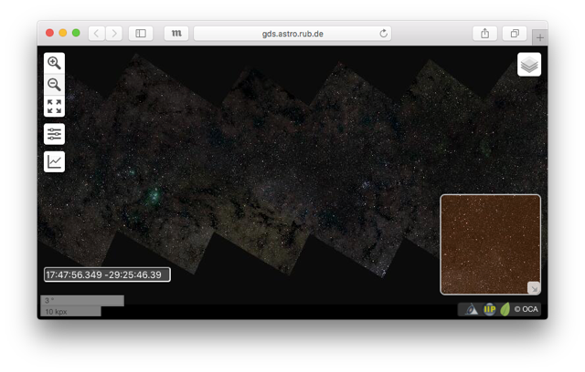 46 миллиардов пикселей Млечного Пути