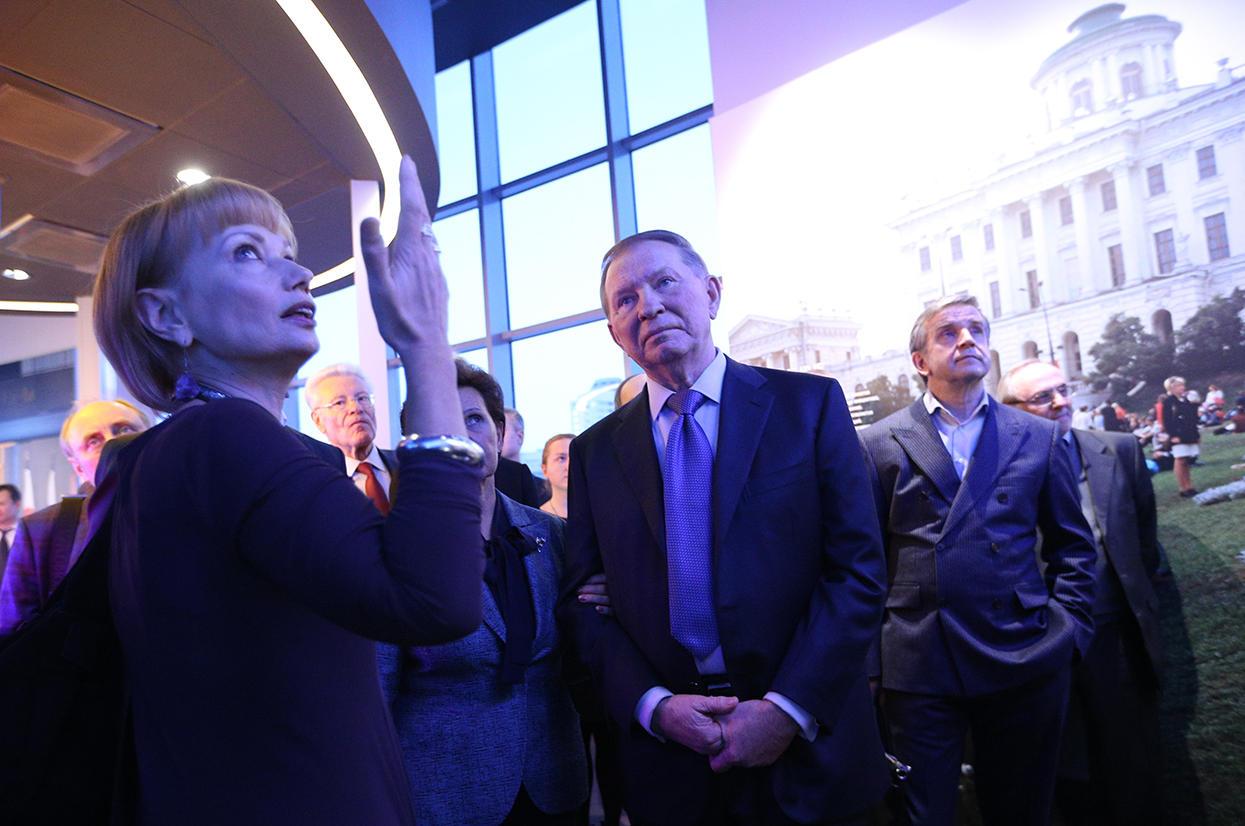 Фотки с открытия ельцин центра