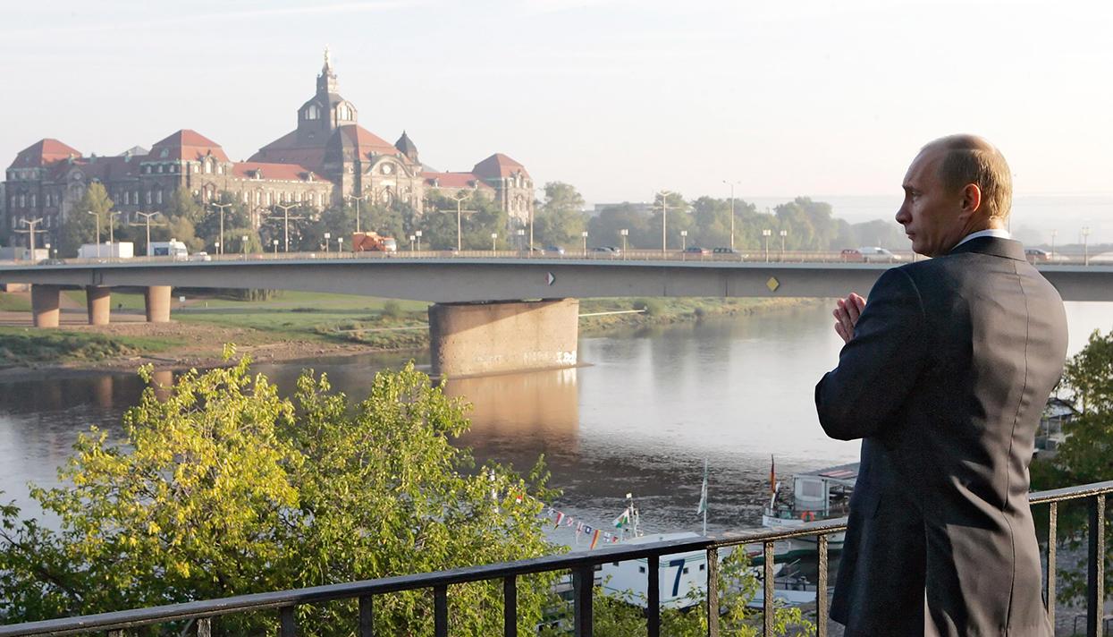Чем занимался Путин в Дрездене?   В России   ИноСМИ - Все ...