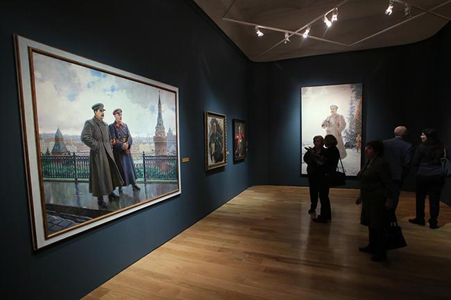 Выставки художников в москве