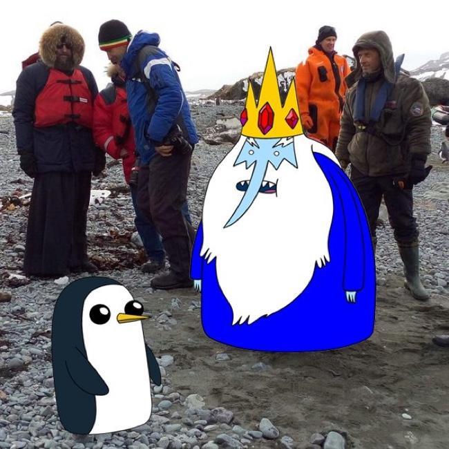 Глава РПЦ Кирилл посетил пингвинов в Антарктиде - Цензор.НЕТ 2471