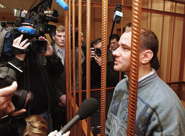 Игорь Сутягин в Мосгорсуде, 2004 год Фото: Юрий Машков / ТАСС / Corbis / Vida Press