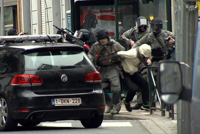 Милиция Германии задержала троих подозреваемых впричастности ктерактам вБрюсселе