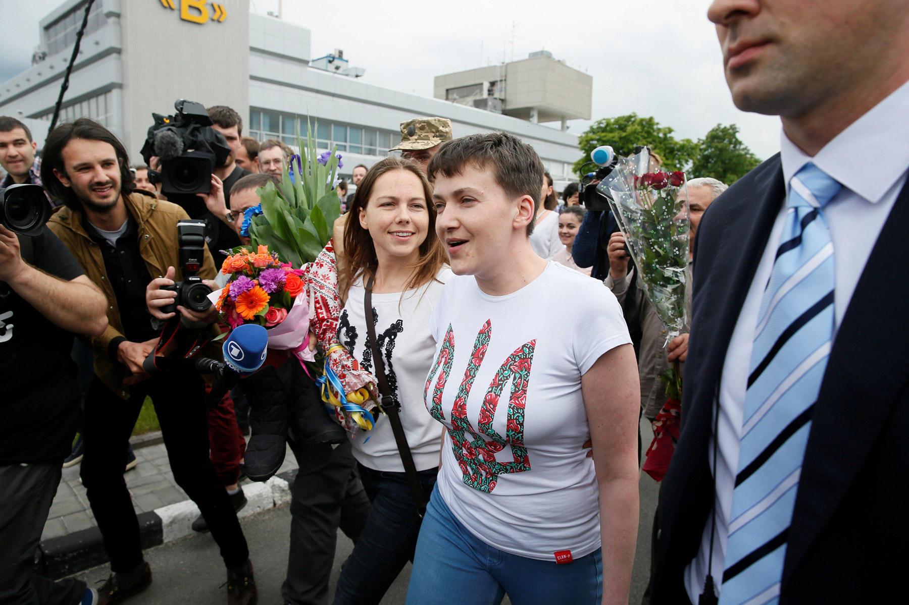 Савченко о выборах на Донбассе: переселенцы должны иметь право голоса