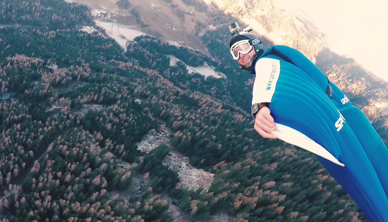 Последний прыжок: вШвейцарии умер экстремал Ули Эмануэле