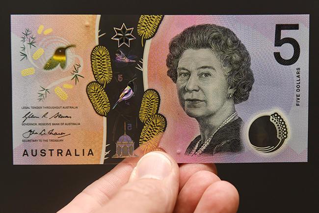 ВАвстралии выпустили анимированные доллары спрозрачными окошками