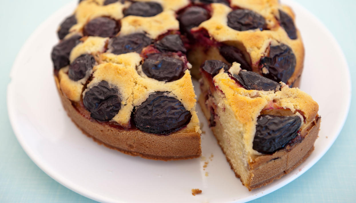 самый простой пирог рецепт Сливовый
