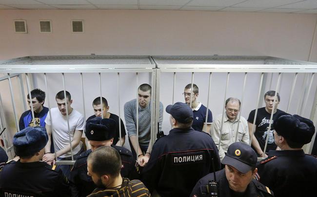 Суд над участниками Болотного дела, февраль 2014 года Фото: Maxim Shemetov / Reuters / Scanpix / LETA