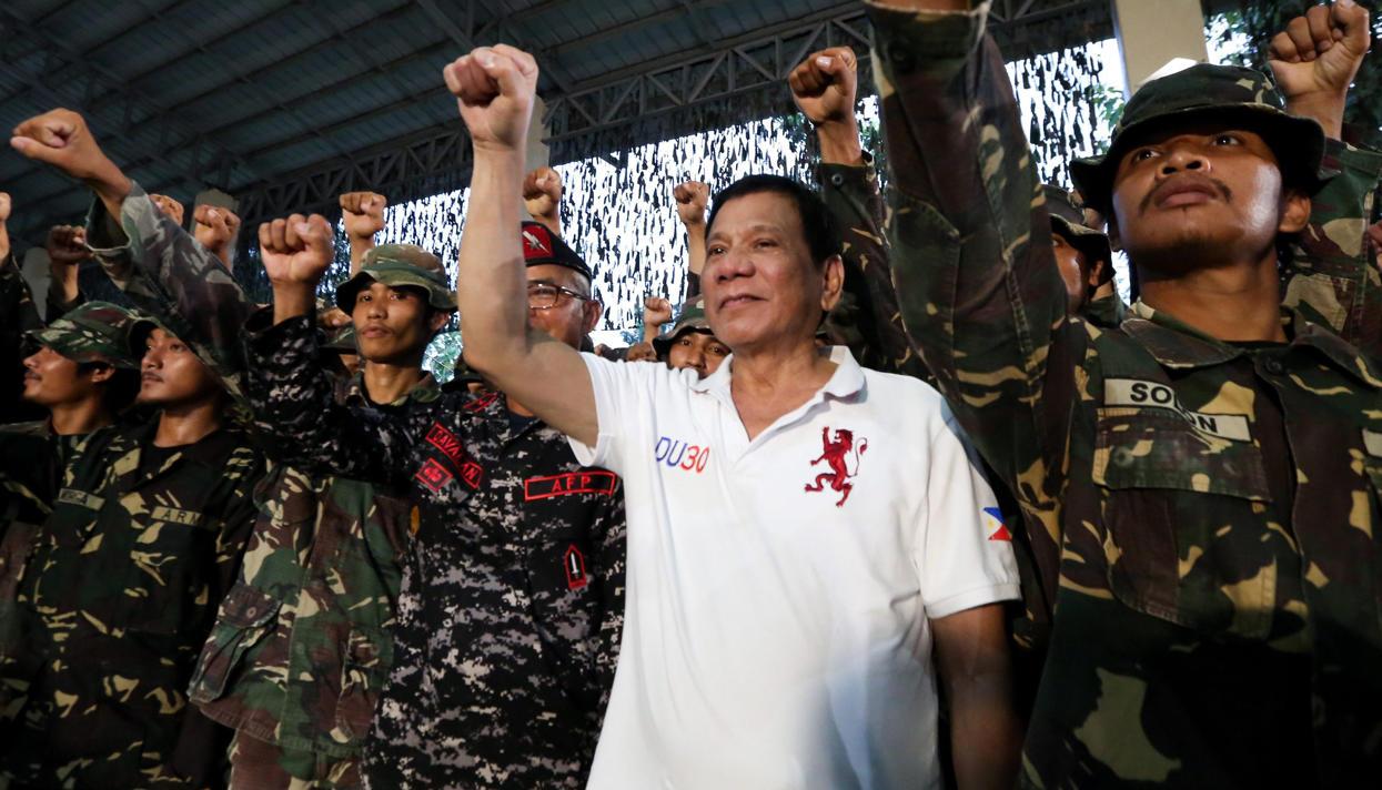 Киллер рассказал освязях спрезидентом Филиппин