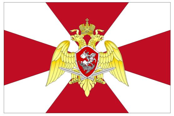 Национальная гвардия РФ показала собственный флаг изнамя