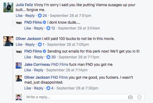 Три кинорежиссера растратили пожертвования накиноленту исняли обэтом фильм