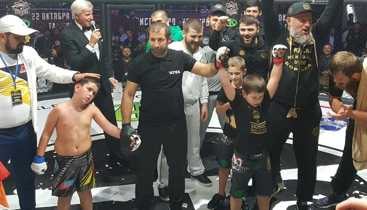 Видео боев своих детей Кадыров выложил в инстаграм