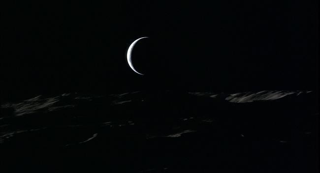 Японцы опубликовали видео восхода Земли наЛуне