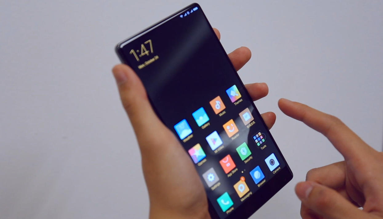 Xiaomi MiMix оказался нетаким ужбезрамочным