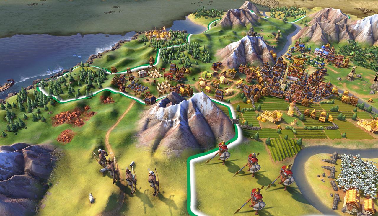 Вышла новая версия знаменитой игры Civilization VI