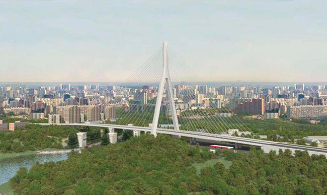 В столицеРФ одобрили строительство вантового моста смачтой вышиной 137 метров