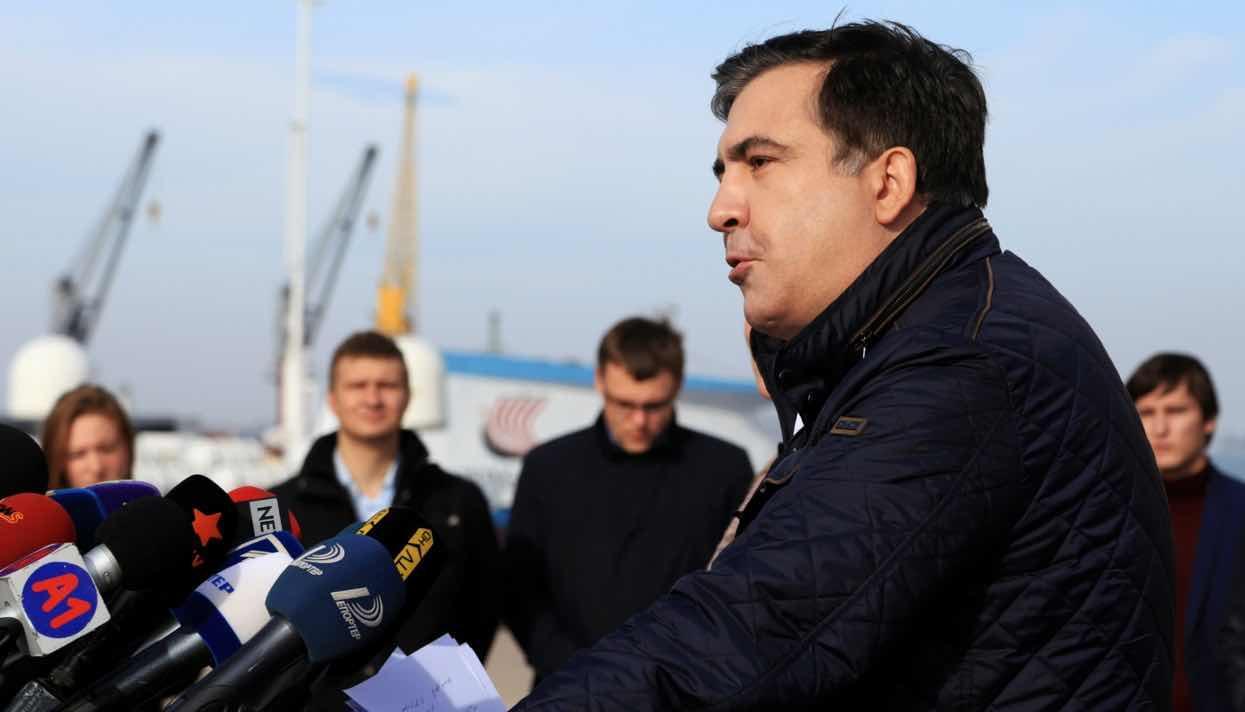 Саакашвили обвинил Порошенко впокровительстве криминальным «кланам»