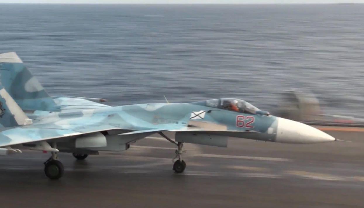 Кремль неожиданно отреагировал накрушение своего истребителя