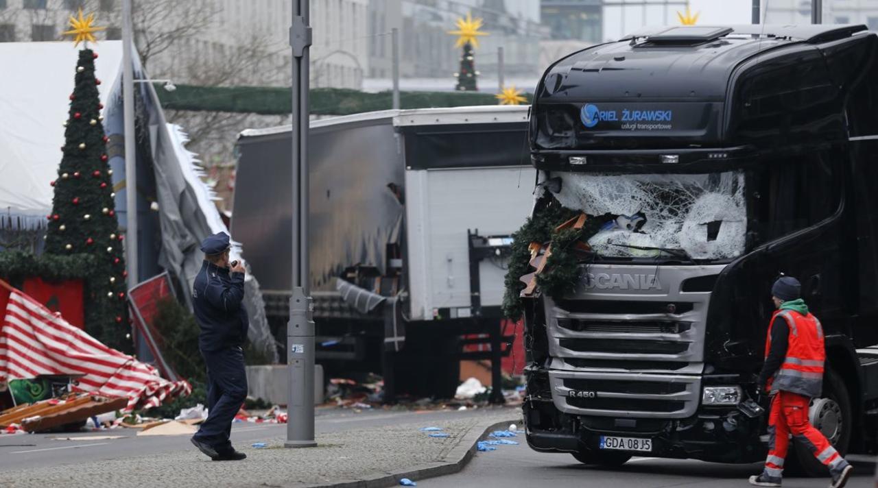 Милиция идентифицировала 6 из12 погибших вБерлине