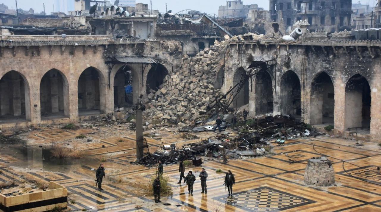 Политика: Какова ситуация в Алеппо сегодня?