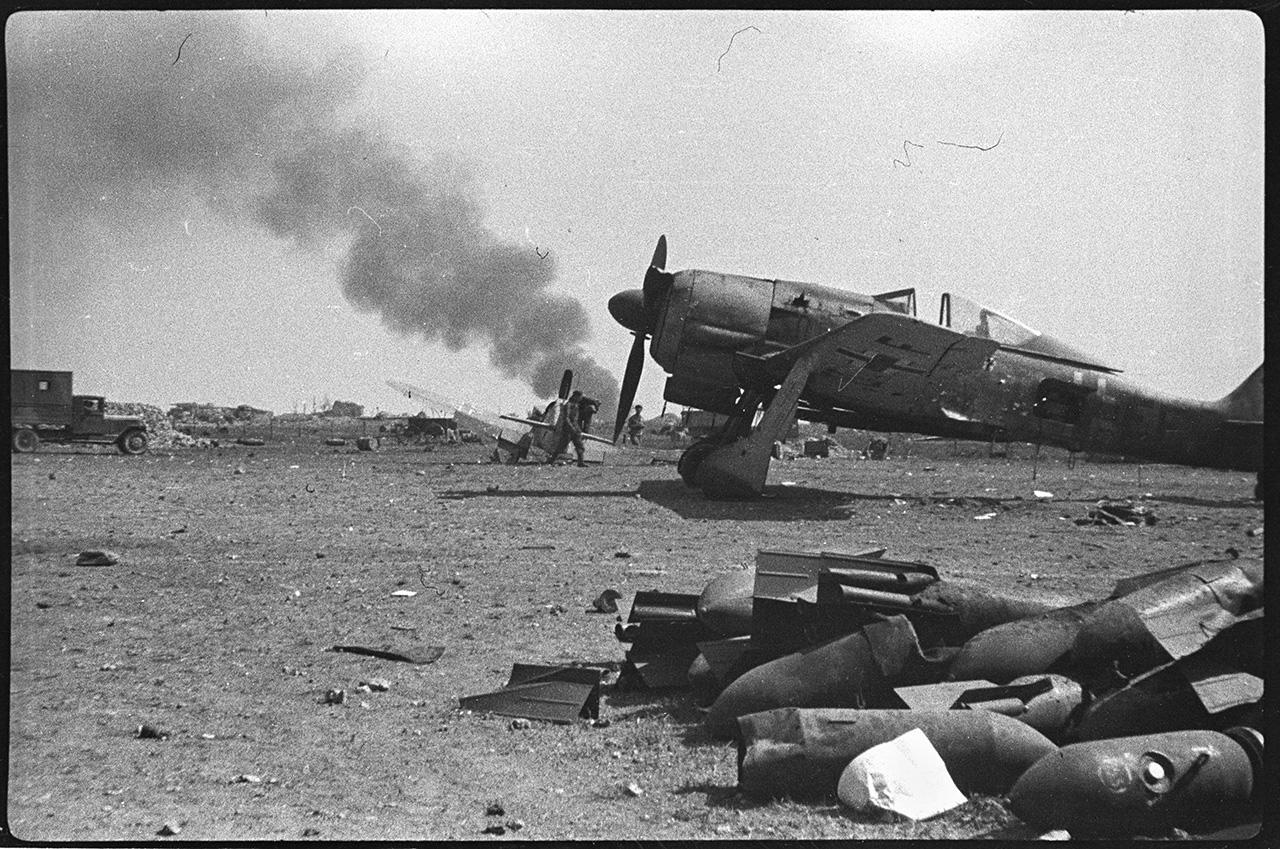 Крым во время войны. Фотографии фронтового репортера Валерия Фаминского