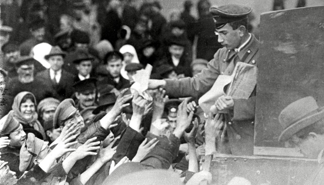 100 лет 1917 году: лучшие лекции испецпроекты орусской революции