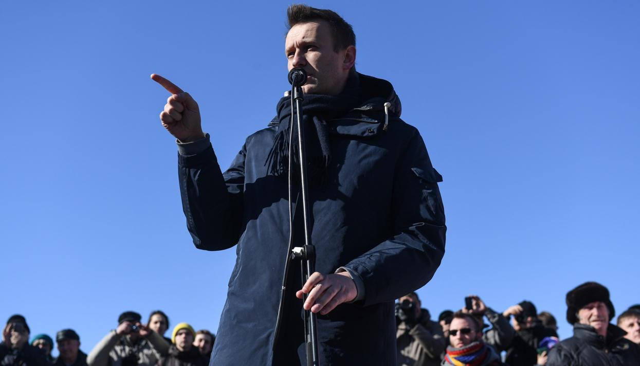 Навальный объявил, что шествие по Тверской «автоматически» согласовано/.