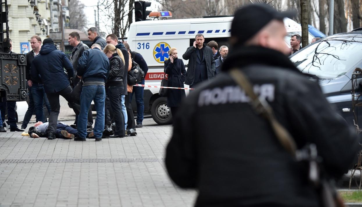 Вцентре столицы Украины расстреляли экс-депутата русской Государственной думы Дениса Вороненкова