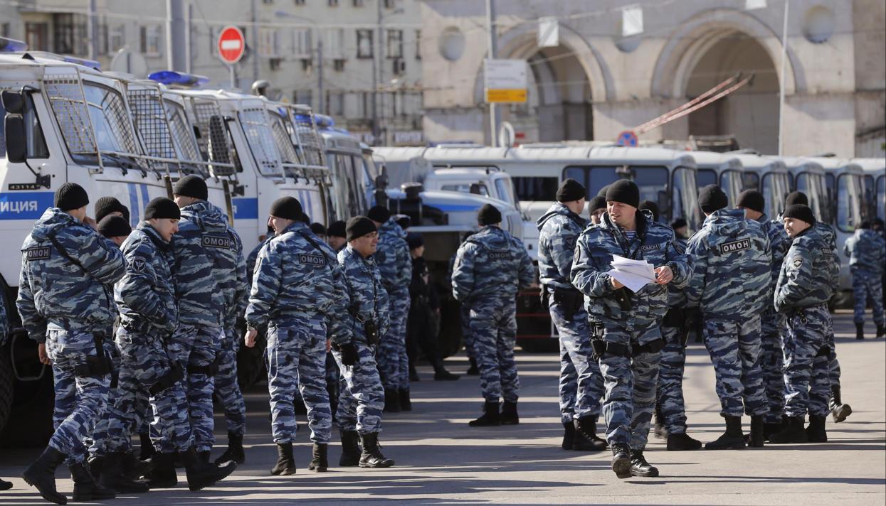 Алексей Навальный задержан наТверской улице