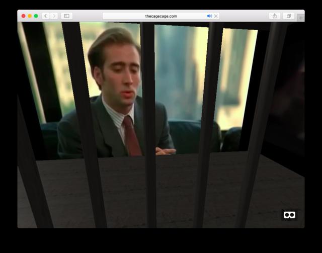 The Cage Cage: пройдите пытку Николасом Кейджем