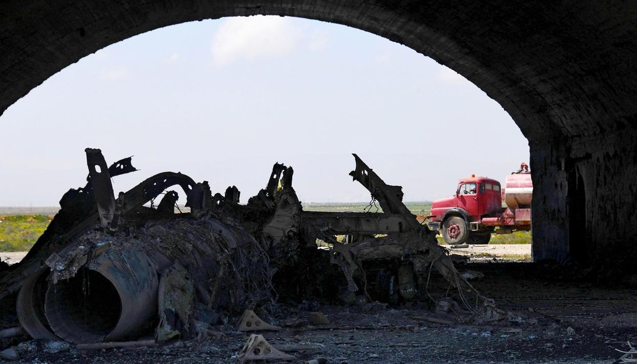 США пригрозили новыми ударами поСирии вслучае повторения химатак