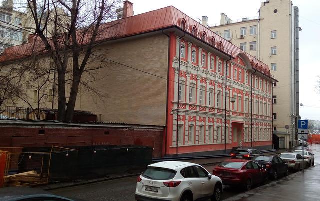 Здание вСтаромонетном переулке, которое получил всвое пользование фонд «Я— гражданин»