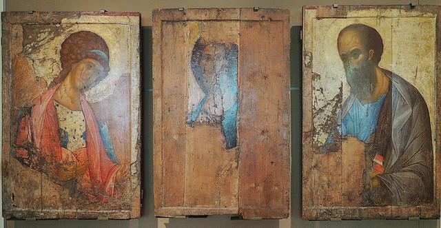 Исследование икон «Звенигородского чина» поставило под сомнение авторство Андрея Рублева