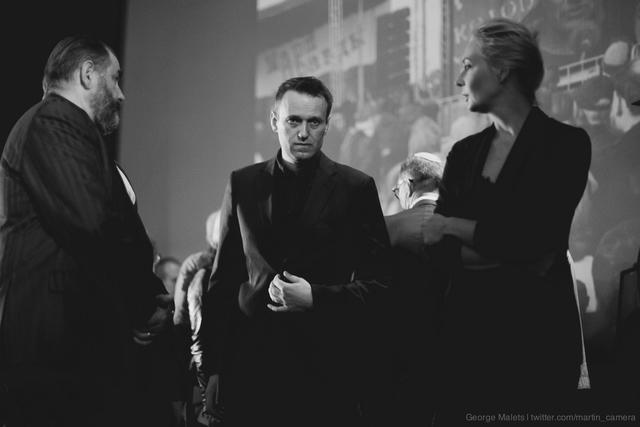 Алексей Навальный иего жена Юлия