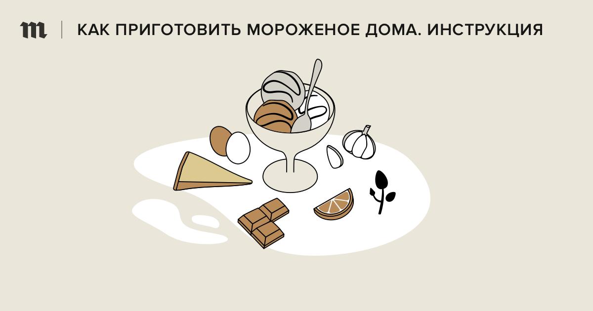 Как приготовить мороженое дома: 5 рецептов: от супершоколадного до цитрусового