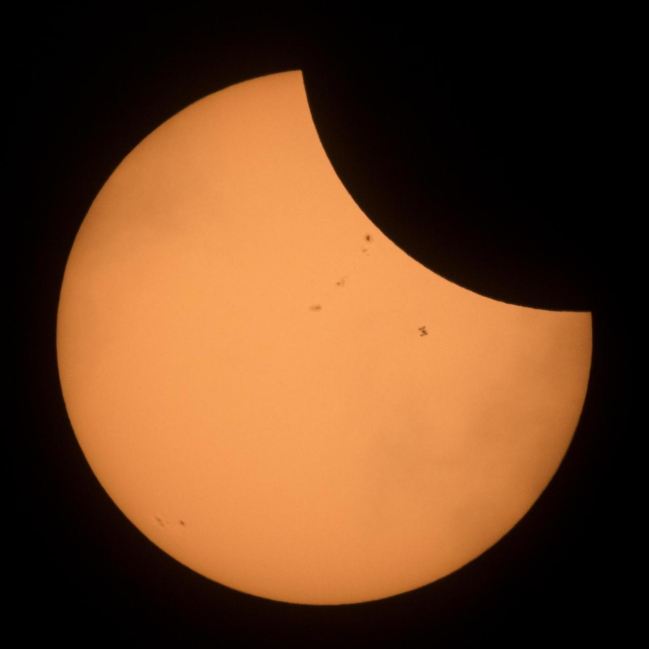 Солнечное затмение над США. Фотографии