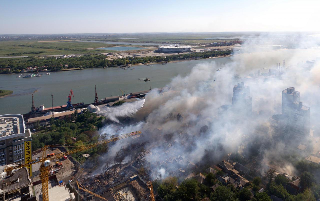 m57_aImDKxAXPi82G2ud2g Дома без страховки, пожарные без воды. Как и почему в центре Ростова-на-Дону сгорел целый район