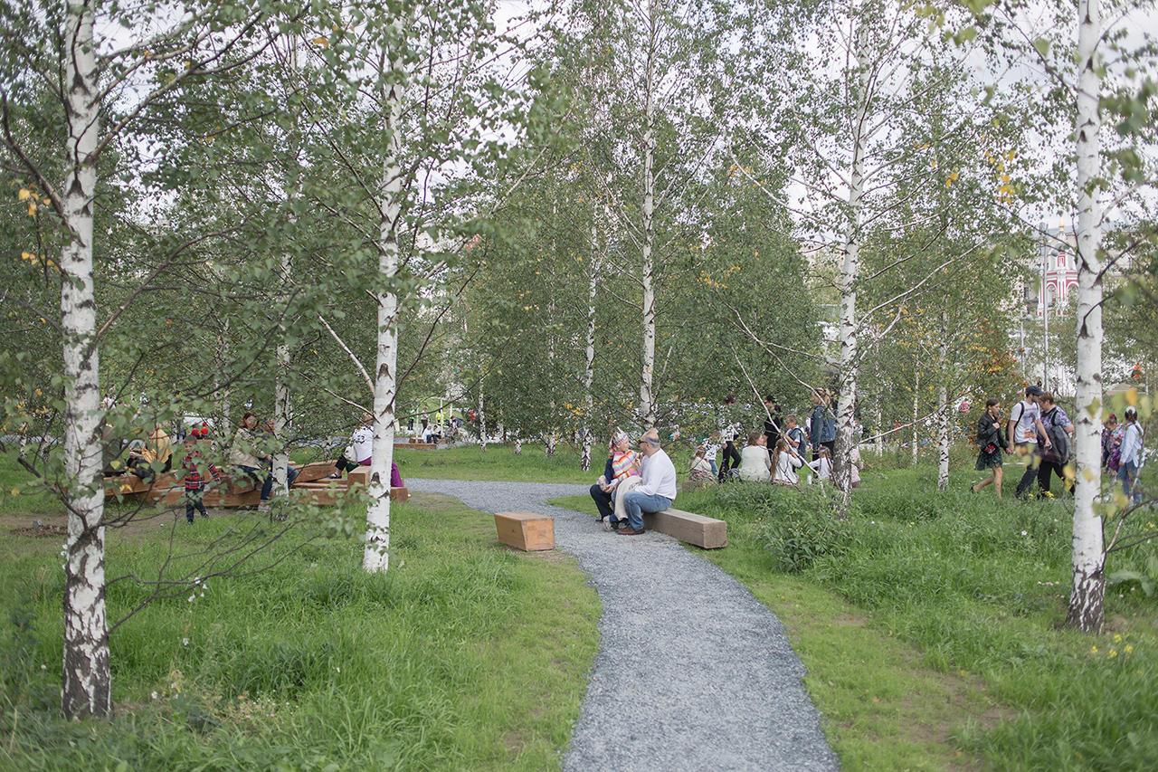 Парк Garden by the Bay  новая достопримечательность