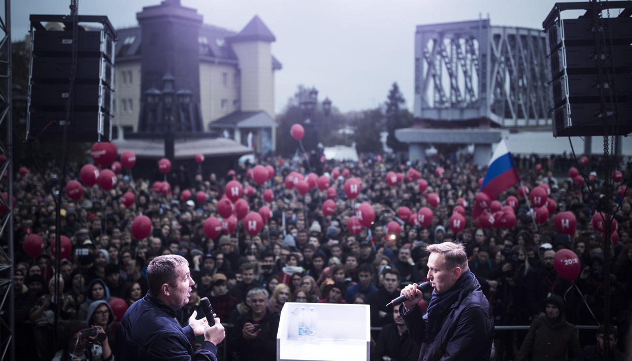 Alexey Navalny gathered several thousand Yekaterinburg residents for a rally September 17, 2017 80