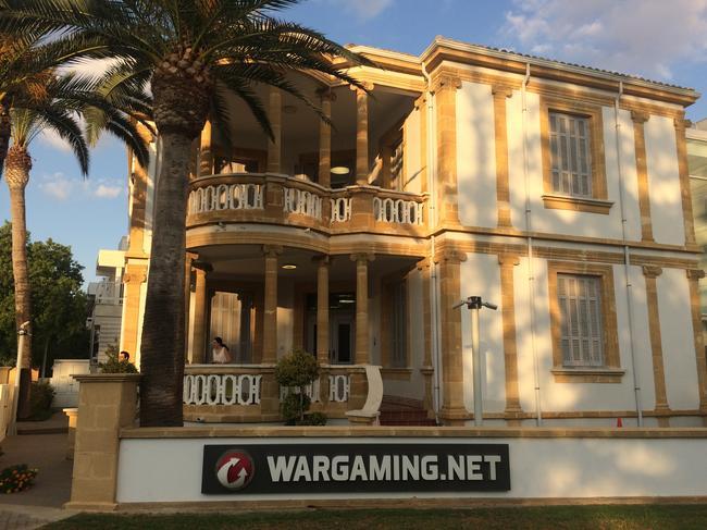 Здание вНикосии, где располагается один изофисов Wargaming.net