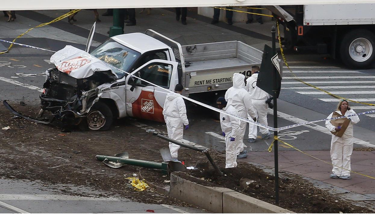ВНью-Йорке приверженец «ИГ» напикапе задавил восемь человек