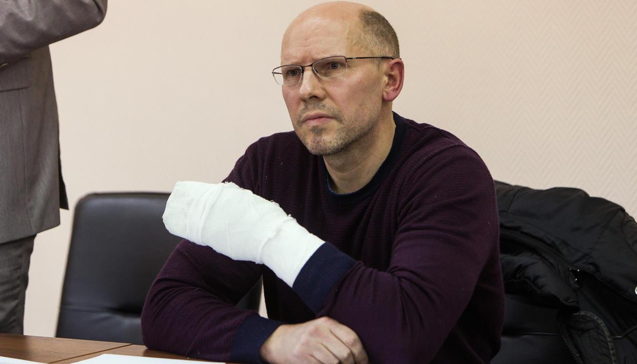 Окончен суд онападении накалининградского издателя Рудникова— Спасла пачка денежных средств