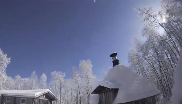 Над Финляндией, Норвегией иМурманской областью пролетел метеор. Посмотрите, как это было