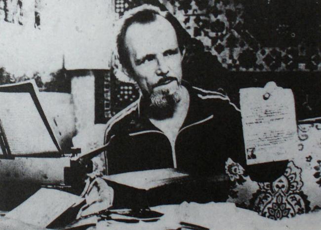 Pyotr Siuda's funeral, May 1990