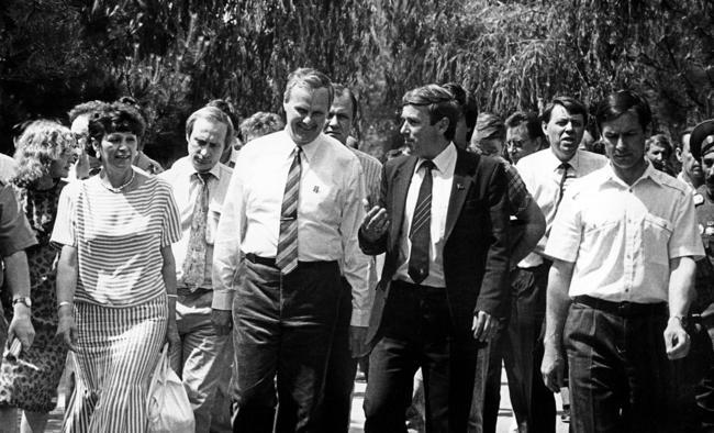 Anatoly Sobchak in Novocherkassk, June 1991