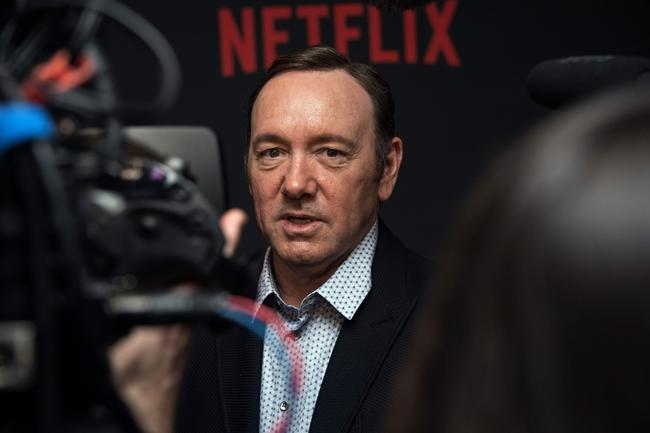 Кевин Спейси напремьере четвертого сезона «Карточного домика». Вашингтон, 23февраля 2016 года