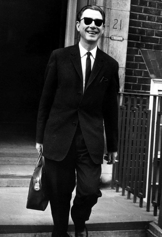 Стивен Уорд незадолго досамоубийства, июль 1963 года